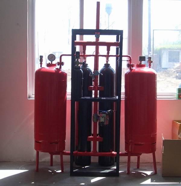 超细干粉灭火系统