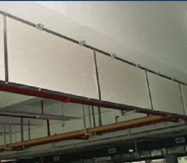 固定式镁板挡烟垂壁