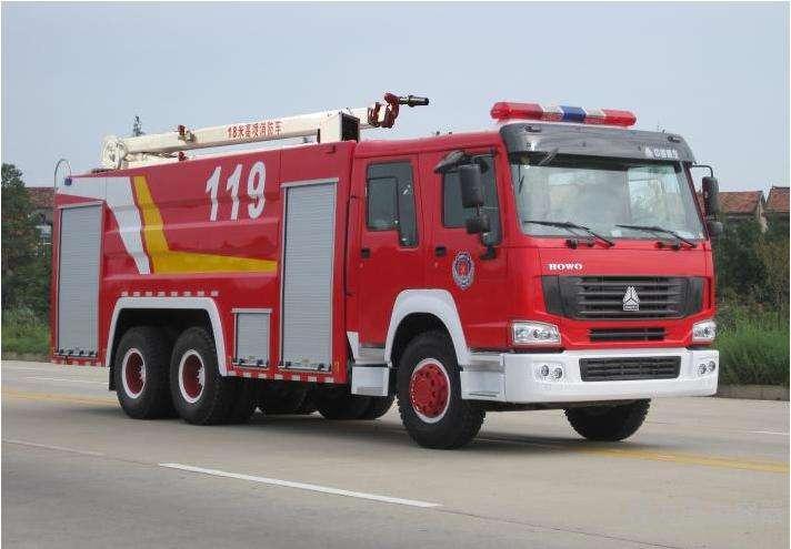 主站消防车